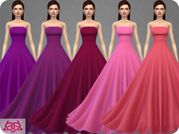 Wedding Dress 9 by Colores Urbanos at TSR image 377 Sims 4 Updates