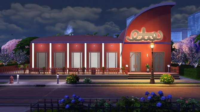 Delissimo restaurant by Brinessa at Mod The Sims image 382 670x377 Sims 4 Updates