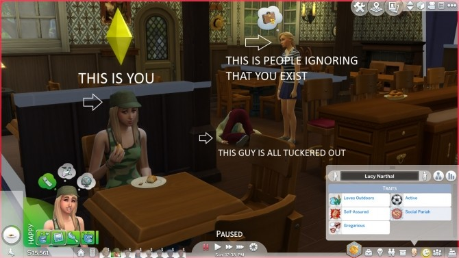 Social Pariah Trait by CardTaken at Mod The Sims image 404 670x377 Sims 4 Updates