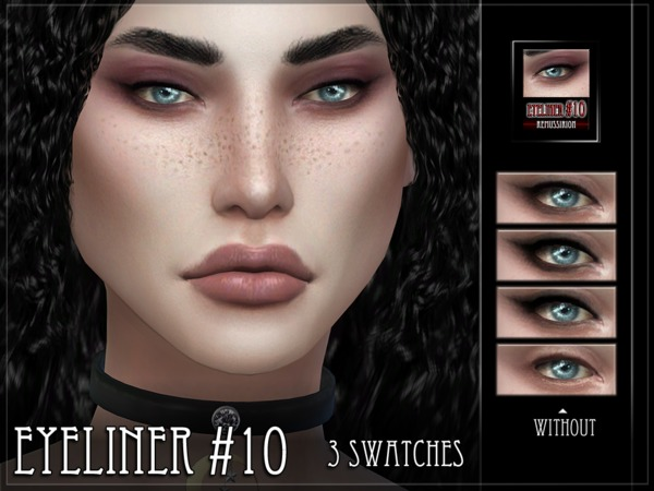 Eyeliner 10 by RemusSirion at TSR image 4105 Sims 4 Updates