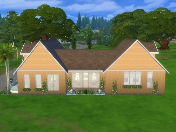 Homedale house No CC by Lenabubbles82 at Mod The Sims image 411 670x503 Sims 4 Updates