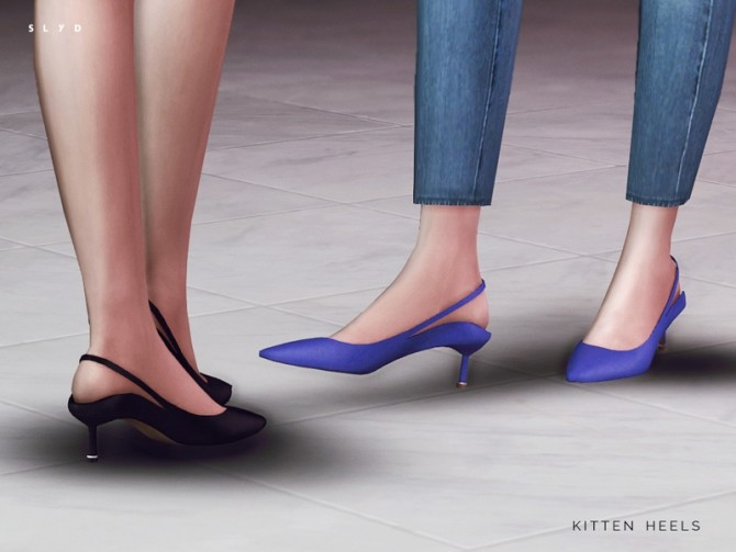 Sims 4 Kitten Heels by SLYD at TSR