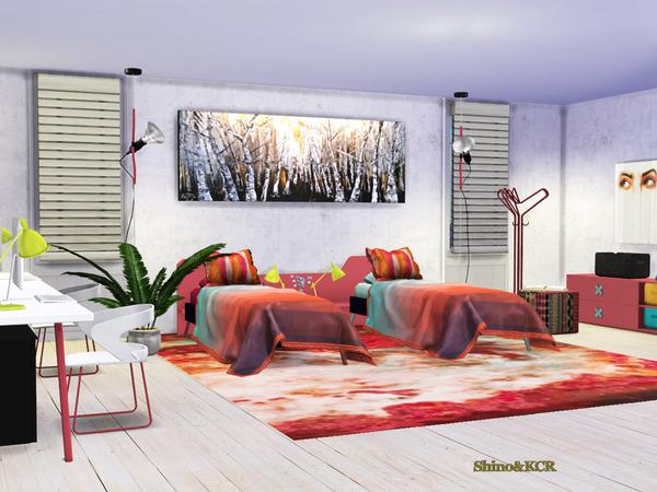 Sims 4 Bedroom Nardi by ShinoKCR at TSR