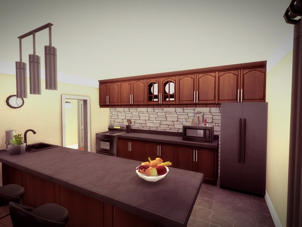 Sims 4 Sunnyfield house by melcastro91 at TSR
