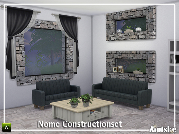 Nome Construction set by mutske at TSR image 450 Sims 4 Updates