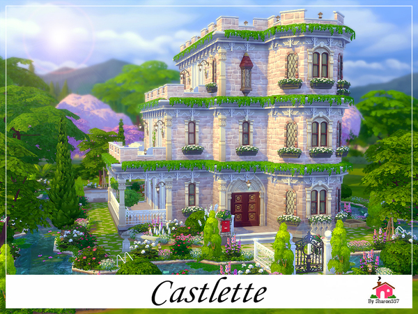 Castlette by sharon337 at TSR image 4510 Sims 4 Updates