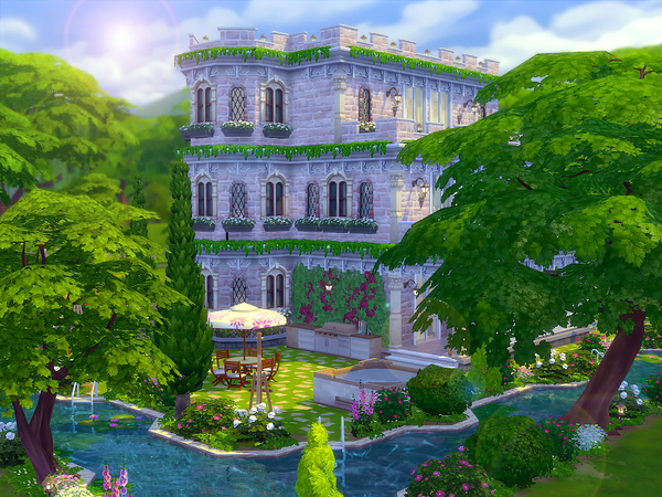 Castlette by sharon337 at TSR image 4611 Sims 4 Updates