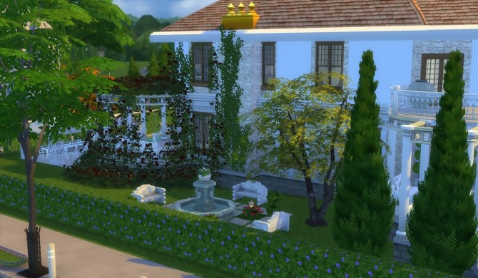 Sims 4 Villa Il Roseto by patty3060 at Mod The Sims