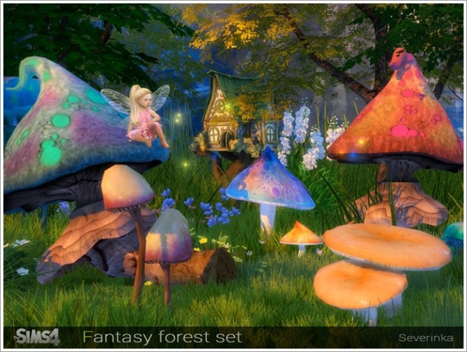 Fantasy forest set at Sims by Severinka image 4618 670x505 Sims 4 Updates