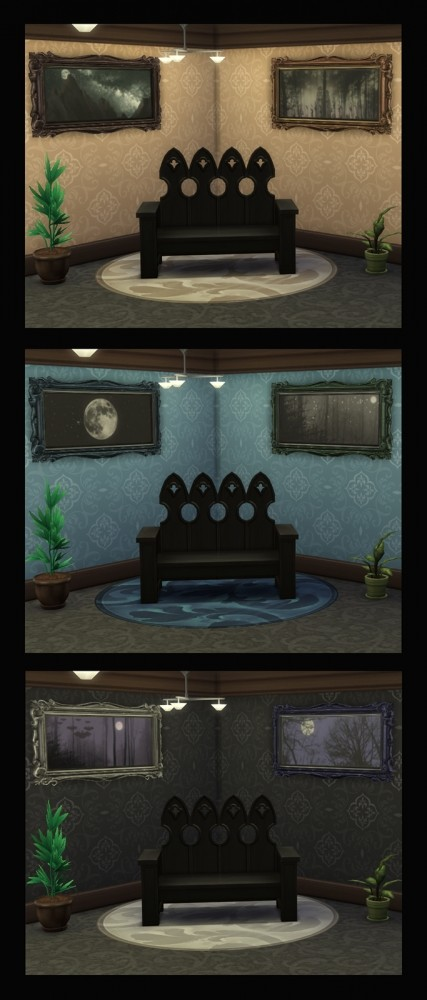 Sims 4 I Love the Night Life Paintings by Simmiller at Mod The Sims