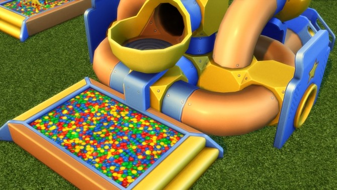 Toddler Ball Pit Texture Replacement by yakfarm at Mod The Sims image 4819 670x377 Sims 4 Updates