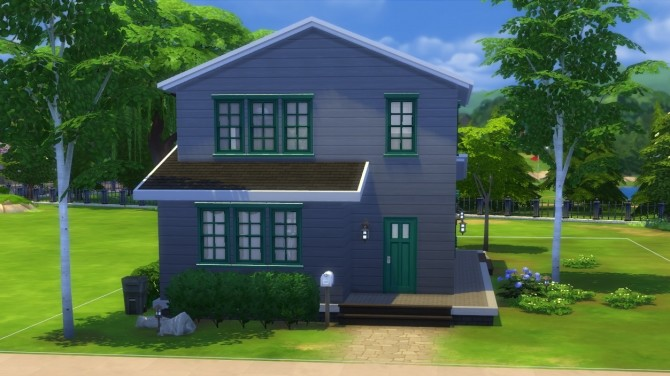 Sims 4 The Plum House by Krowvacs at Mod The Sims
