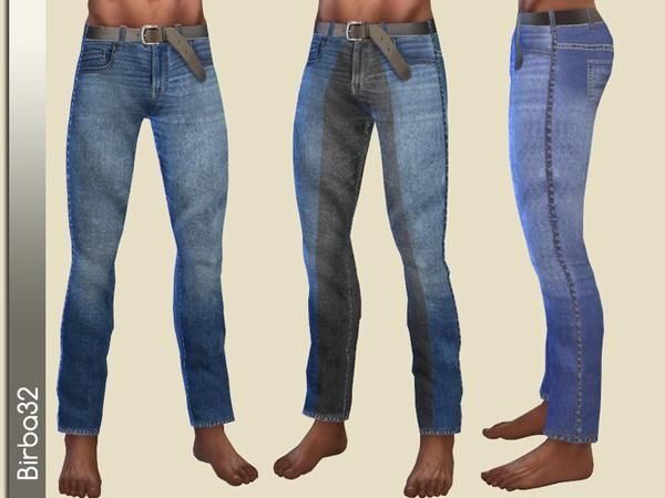 Sims 4 Jeans Man 0817 by Birba32 at TSR