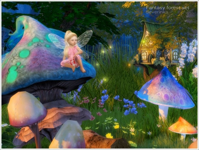 Fantasy forest set at Sims by Severinka image 4919 670x505 Sims 4 Updates