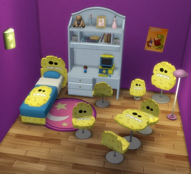 Lord Sponge Strikes Again by BigUglyHag at SimsWorkshop image 492 670x610 Sims 4 Updates