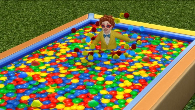 Toddler Ball Pit Texture Replacement by yakfarm at Mod The Sims image 4921 670x377 Sims 4 Updates