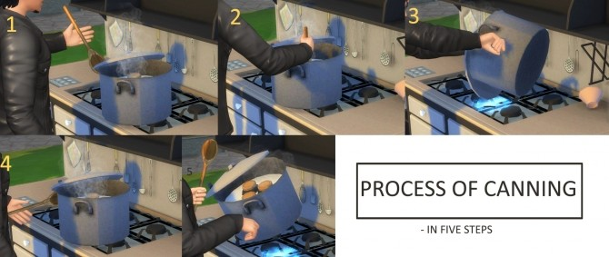 Functional Canning Station and Skill by icemunmun at Mod The Sims image 495 670x283 Sims 4 Updates