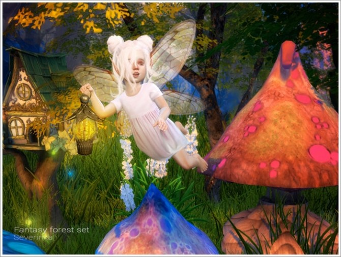 Fantasy forest set at Sims by Severinka image 5018 670x505 Sims 4 Updates