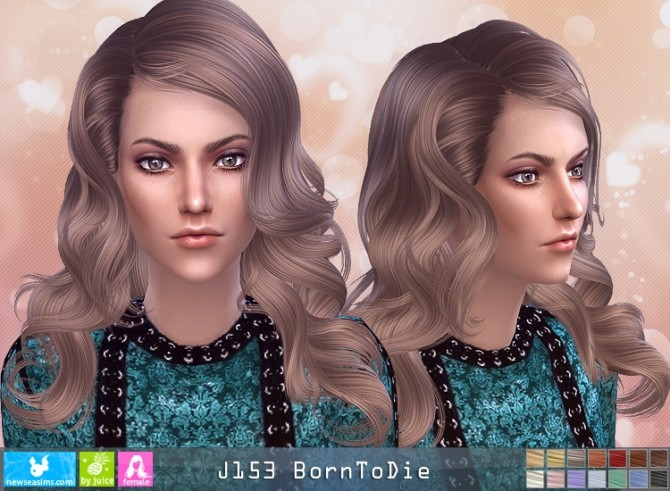 J153 BornToDie hair (Pay) at Newsea Sims 4 image 505 670x491 Sims 4 Updates