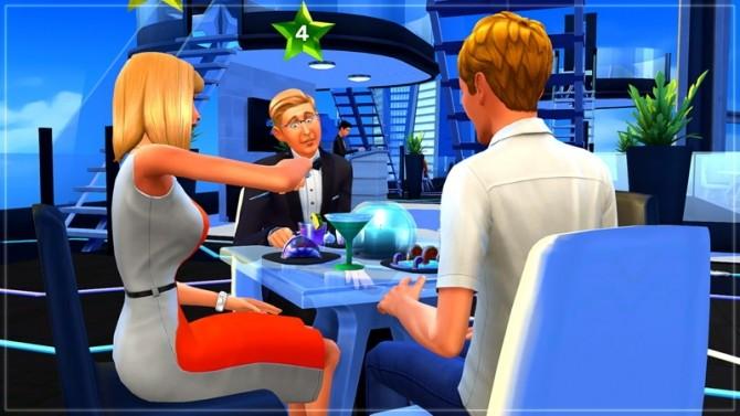 Sims 4 Restaurant FutuRama by Rany Randolff at ihelensims