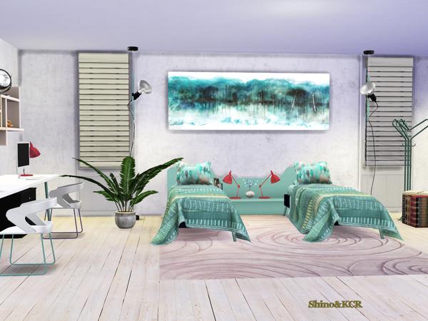 Bedroom Nardi by ShinoKCR at TSR image 512 Sims 4 Updates