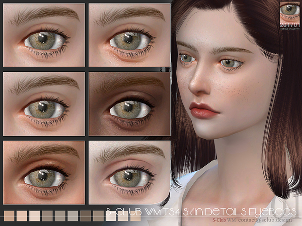 Eyebags 201701 by S Club WM at TSR image 514 Sims 4 Updates