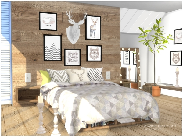 Alwine Bedroom By Severinka At Tsr 187 Sims 4 Updates