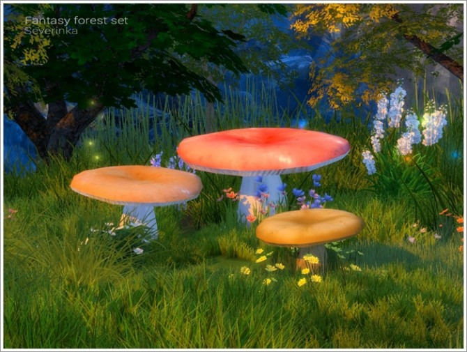 Fantasy forest set at Sims by Severinka image 5218 670x505 Sims 4 Updates