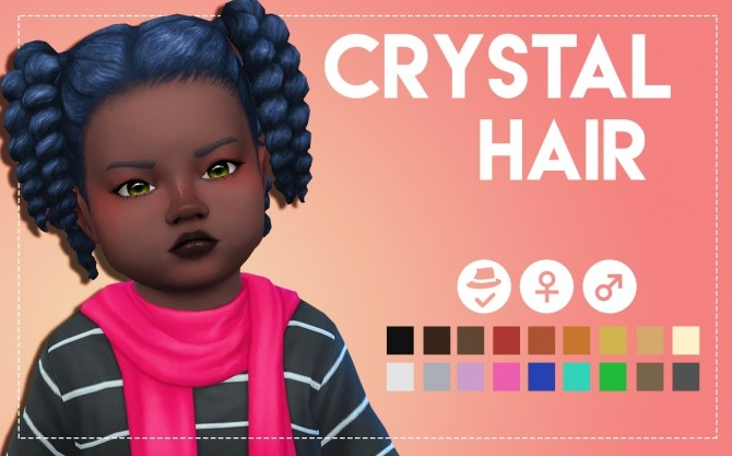 Crystal Hair & Acc by Weepingsimmer at SimsWorkshop image 5220 670x417 Sims 4 Updates