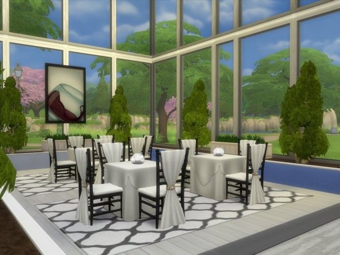 Unwind Dining No CC by Lenabubbles82 at Mod The Sims image 526 670x503 Sims 4 Updates