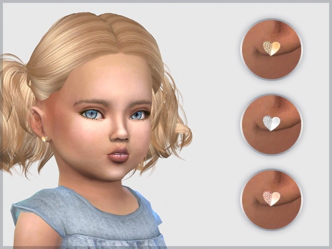 Heart Studs For Toddlers at Giulietta image 529 670x503 Sims 4 Updates