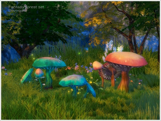 Fantasy forest set at Sims by Severinka image 5318 670x505 Sims 4 Updates