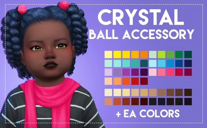 Crystal Hair & Acc by Weepingsimmer at SimsWorkshop image 5320 670x417 Sims 4 Updates