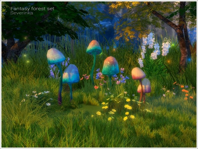 Fantasy forest set at Sims by Severinka image 5416 670x505 Sims 4 Updates