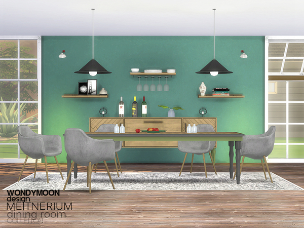 Meitnerium Diningroom by wondymoon at TSR image 5417 Sims 4 Updates