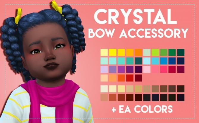 Crystal Hair & Acc by Weepingsimmer at SimsWorkshop image 5418 670x417 Sims 4 Updates
