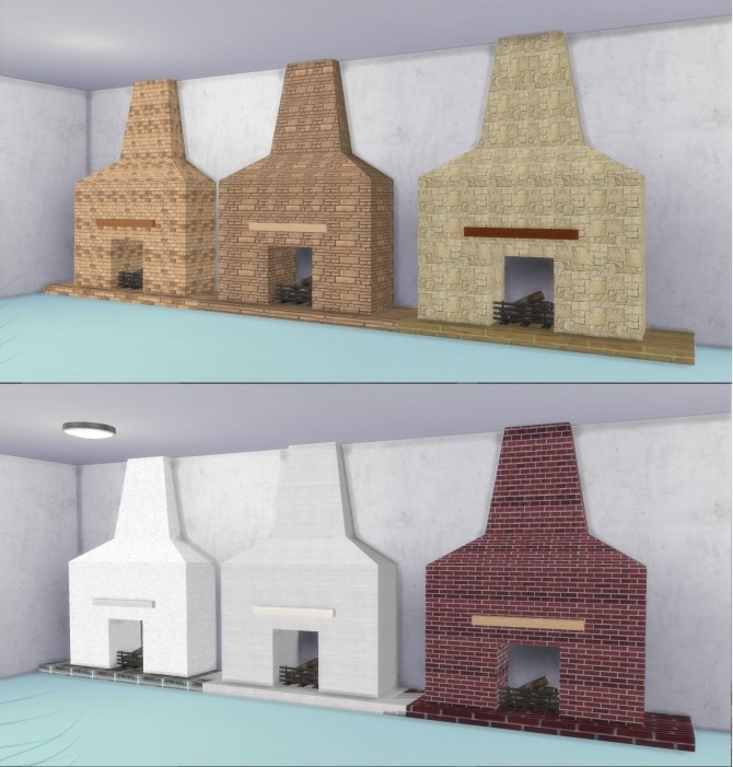 Fire Places 2 by AdonisPluto at Mod The Sims image 5511 670x701 Sims 4 Updates