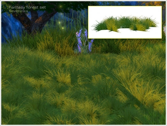 Fantasy forest set at Sims by Severinka image 5514 670x505 Sims 4 Updates