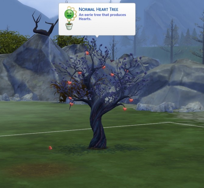 Harvestable Heart Tree and Edible Vampire Hearts by icemunmun at Mod The Sims image 5517 670x616 Sims 4 Updates