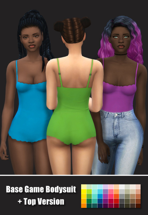 Sims 4 Base game bodysuit at Maimouth Sims4