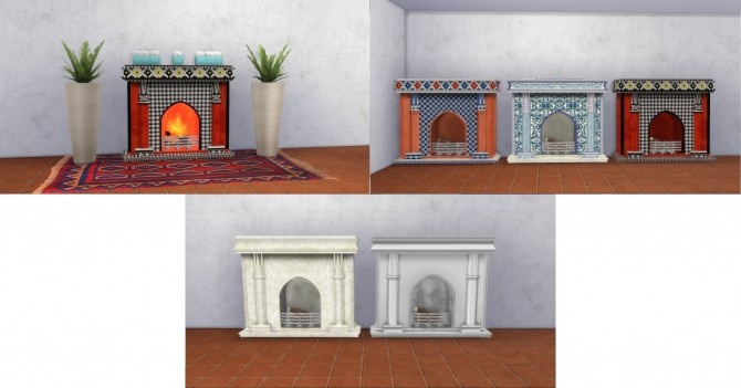 Fire Places 2 by AdonisPluto at Mod The Sims image 5614 670x351 Sims 4 Updates