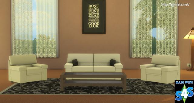 Tivoli Sofa Setting at Simista image 576 Sims 4 Updates