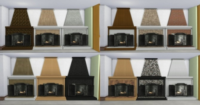 Fire Places 2 by AdonisPluto at Mod The Sims image 5814 670x351 Sims 4 Updates