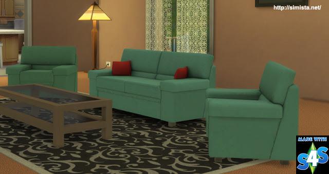 Tivoli Sofa Setting at Simista image 587 Sims 4 Updates