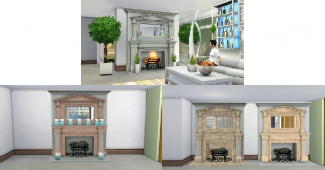 Fire Places 2 by AdonisPluto at Mod The Sims image 5914 670x351 Sims 4 Updates