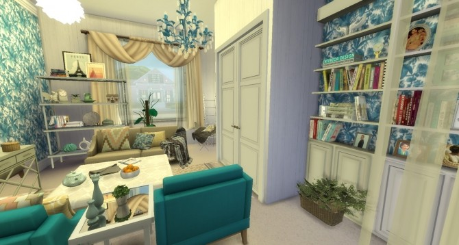 Sims 4 Poppy room by Rissy Rawr at Pandasht Productions