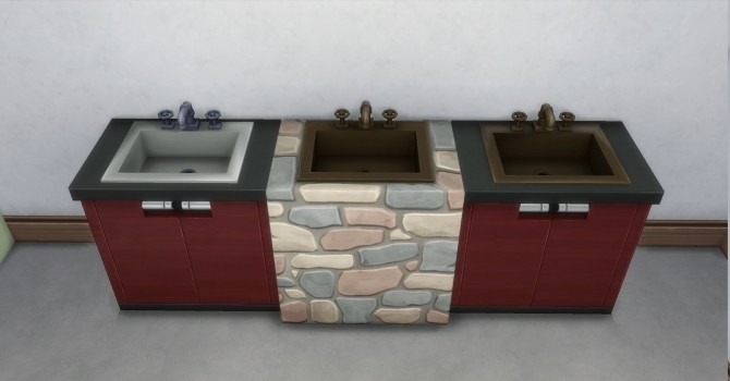 Daz Sinks by AdonisPluto at Mod The Sims image 6012 670x350 Sims 4 Updates