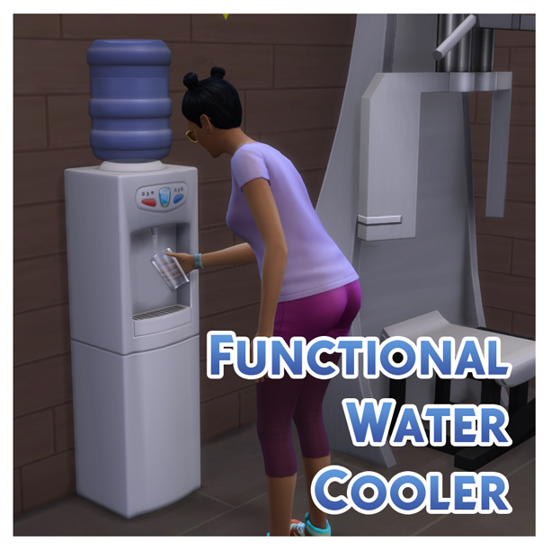 Functional Water Cooler by Menaceman44 at Mod The Sims image 6020 Sims 4 Updates