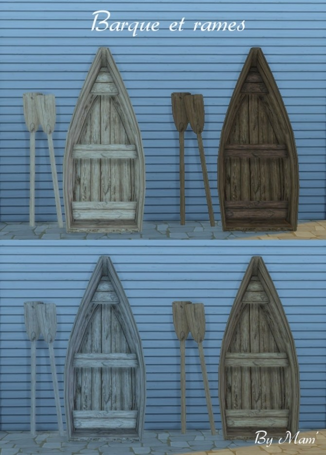 Sims 4 The fishermans bazaar set by Maman Gateau at Sims Artists