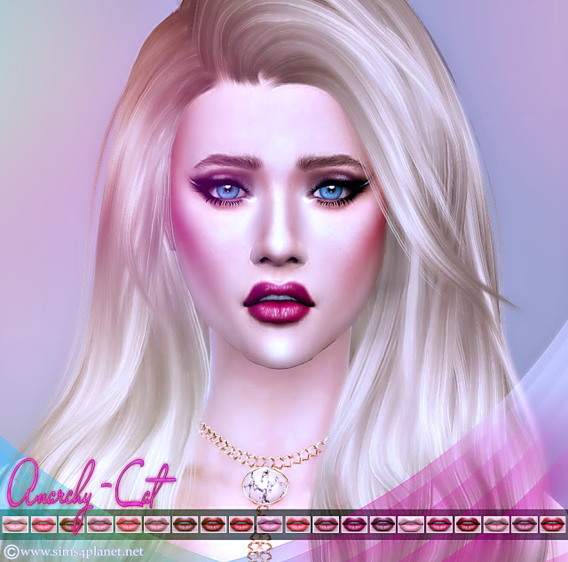 Lips #8 at Anarchy Cat image 6112 Sims 4 Updates